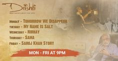 Taste the salt, feel the struggle of a woman, and gyrate your hips like only Bollywood can make you, as you experience a slice of different lives with #DocumentariesonEpic only on #Drishti weekdays @9:00pm