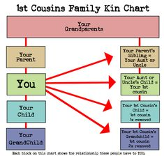 Understanding cousin relationships can be tough. cousin once removed? What does removed even mean? Join me while we break down the cousin relationship. Family Relationship Chart, Cousin Relationships, Toxic Relationships, Healthy Relationships, Relationship Advice, Genealogy Chart, Family Genealogy, Lds Genealogy, Genealogy Quotes