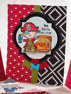 Petits_valentins_la_magie_des_etampes_3 Etampes, Valentines Day, Valentine Cards, Kids Cards, Cardmaking, Spring, Guys, Baby, Cards