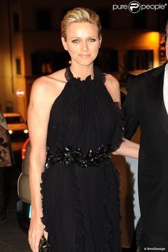 10.10.12  Prince Albert and Princess Charlene, in Gucci F12, at 2012 Ballo del Giglio at Palazzo Pitti in Florence
