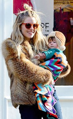 Sienna Miller and Daughter Look Adorable Out In NYC | E! Online Mobile