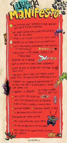 how to write a manifesto advertising