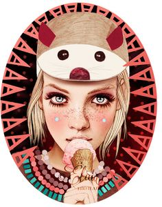 Ëlodie, french illustrator - La Marelle Editions -http://www.elodie-illustrations.net/