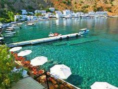Loutro village in Crete, #Greece !