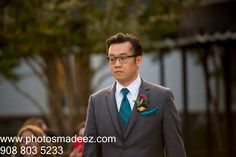 Groomsmen walking down the aisle at Fusion Wedding at eagle Oaks Golf and Country Club. Best Wedding Photographer PhotosMadeEz. Award Winning Photographer Mou Mukherjee. Along with Abhishek Decor and event coodrinated by Social Life Events #reddy4ever - Candid moment. Photo Journalism