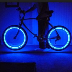 Create a circles of safety with these life-saving LED neon-colored lights for your bike, motorcycle and more. Not only are they fun to look at, they make for an easy solution for biking at night or during bad weather.