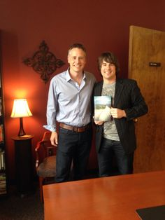 September 10 Matt Baugher presented me the first hard copy of my book WALK TO BEAUTIFUL. This book will be in bookstores on October 7, 2014 #Amazing