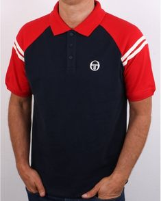 Sergio Tacchini | 80s Casual Classics Grandad Collar Shirt, Collar Shirts, Polo Shirt, T Shirt, Shorts, Casual, Mens Tops, Fashion, Supreme T Shirt