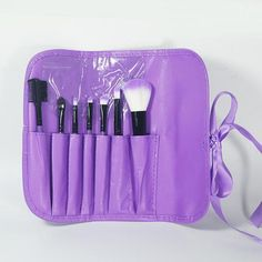Professional 7 pcs Makeup Brushes Toiletry Make up tool Kits Wool Brand brush for face accessories Case Cosmetics Set for makeup