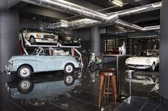 Dapper Coffee Co. & Club9 by Rivets and Rockets, Cape Town – South Africa » Retail Design Blog