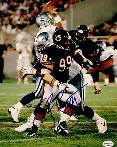 Jim Flanigan Chicago Bears Autographed 8x10 1994-2003 Photo Rare Packers SL COA . $15.00. Chicago Bears DTJimi FlaniganHand Signed 8x10 PhotoChicago Bears (1994-2000)Green Bay Packers (2001)San Francisco 49ers (2002)Philadelphia Eagles (2003)GREAT AUTHENTIC FOOTBALL COLLECTIBLE!! .AUTOGRAPH AUTHENTICATED BY SPORTS LOT AUTHENTICATIONS WITHSPORTS LOT AUTHENTICATION STICKER ON ITEM.SL SOA # 13308GUARANTEED TO PASS PSA OR JSA INSPECTION.ITEM PICTURED IS ACTUAL ITEM B...