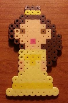 Disney Belle perler beads by MolilyGalleria