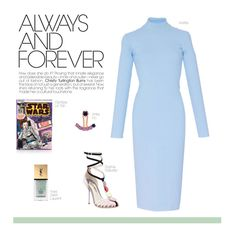 Untitled #798 by livnd on Polyvore featuring VIVETTA, Sophia Webster, Olympia Le-Tan, Yves Saint Laurent and modern