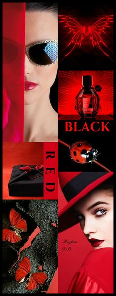 '' Black & Red '' by Reyhan S.D.