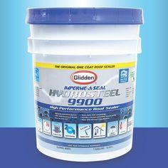 Protege todo lo que valoras con Glidden Hydrosteel 9900: el único sellador que protege tu techo con 1 sola capa.   Visita tu tienda #Glidden más cercana para información de cómo proteger tu hogar con #Hydrosteel.