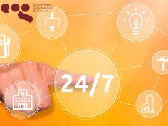 Contamos con servicio los 365 días del año. EOG CORPORATIVO. En Employment, Optimization & Growth, no importa a qué hora o que día requiera de nuestros servicios o desee consultar nuestro trabajo con respecto a su empresa, ya que contamos con servicio las 24 horas del día, los 365 días del año. Le invitamos a visitar nuestra página en internet, para conocer más sobre nosotros y los servicios que brindamos o contactarnos al correo atencionaclientes@eog.mx.
