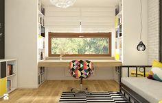 Dom w Opolu - Średni pokój dziecka dla dziewczynki dla nastolatka, styl skandynawski - zdjęcie od WERDHOME