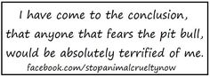 & i'm just not that scary.