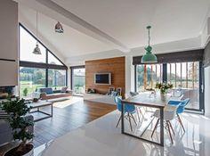 Jadalnia styl Minimalistyczny - zdjęcie od DOMY Z WIZJĄ - nowoczesne projekty domów