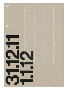 Poster design: This calendar Typography Layout, Graphic Design Typography, Graphic Design Illustration, Graphic Posters, Editorial Layout, Editorial Design, Corporate Design, Personal Branding, Identity Branding