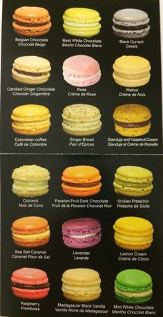 French Macaroon Recipes, French Macaroons, Fancy Desserts, Delicious Desserts, Yummy Food, Cupcakes, Dessert Drinks, Dessert Recipes, Bakery Recipes