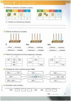 Livro de fichas de matemática 3º ano                                                                                                                                                                                 Mais