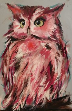 Hey, I found this really awesome Etsy listing at https://www.etsy.com/listing/470917323/original-owl-painting-on-a-handbuilt