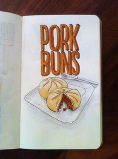Day 47: Pork Buns