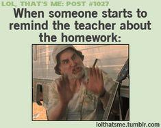 "#relatable BUT Im ""that"" kid that accidentally tells the teacher lmaooo"