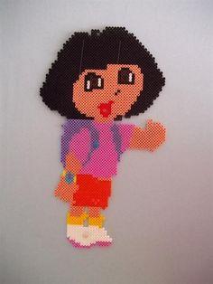 Dora perler beads by Harry D. - Perler® | Gallery