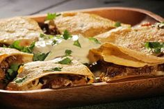 Chorizo Quesadilla: Recipes: TLC