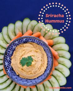 Sriracha hummus this sounds yummy! Can't wait to make it.