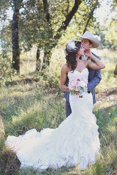 Vista West Ranch Wedding Hug