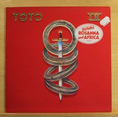 TOTO IV  (4) Vinyl LP Rosanna Africa I want hold you back Make believe Top RARE