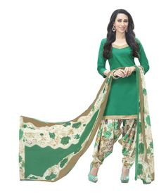 Miraan Cotton Printed Unstitched Patiyala Dress Material Rani11001