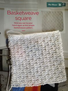 Issue 19 - Basketweave square
