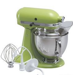 KitchenAid Artisan 5-qt. Stand Mixer..a green one