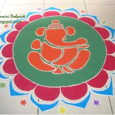 Best Ganesha Rangoli Designs  Our Top 10