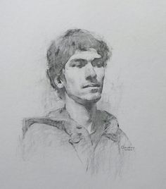 Stephen Bauman Drawings:: Post no.13* Portrait of Eldon