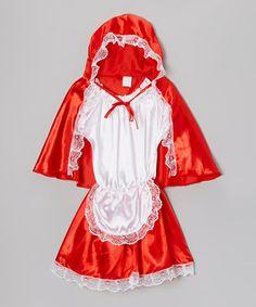 Loving this Red Riding Hood Dress-Up Set - Kids on #zulily! #zulilyfinds