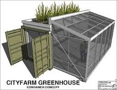 Shipping container shed and greenhouse (Dunway Enterprises) http://clickbank.dunway.com/affiliate_videos/containers/index.html