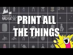 10 Places to get FREE 3D Printing Files - YouTube