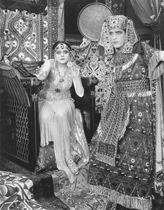 Theda Bara in Cleopatra 1917