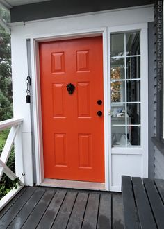 colorful exterior door images