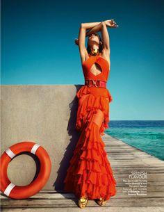 Raica Oliveira for Vogue India by Luis Monteiro