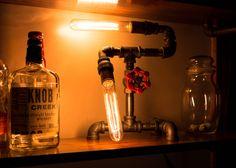 DIY industrial edison lamp