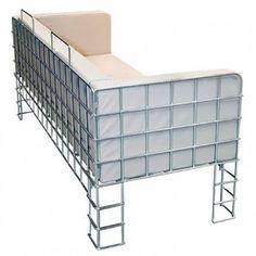 sièges, armature filaire, canape Suzi,siskô design