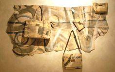 La pelletteria di Karmas Design...le opere dell'artista dalle tele alla pelle. In vendita su www.mirabiliashop.com