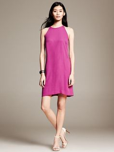 Pink Halter Dress Product Image
