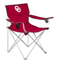 Oklahoma Sooners NCAA Deluxe Folding Chair